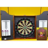 Dart Board with Frame