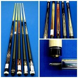 PLAYER POOL CUE  HXT4,10,15,60 & 99